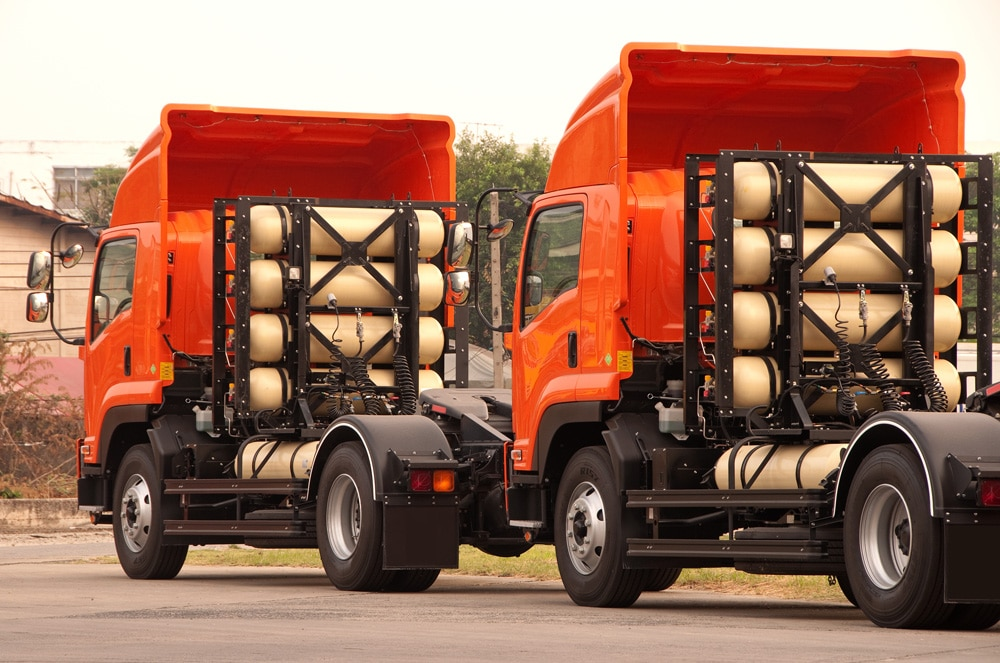 L'alternative du gaz naturel pour les camions.